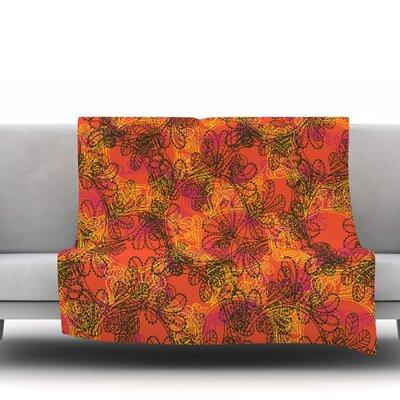 Jaipur by Patternmuse 60 Fleece Blanket