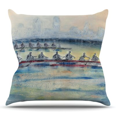 Crew by Josh Serafin Throw Pillow Size: 18 H x 18 W