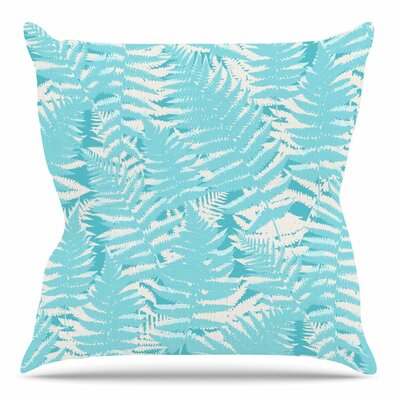 Fun Fern by Jacqueline Milton 18 Throw Pillow