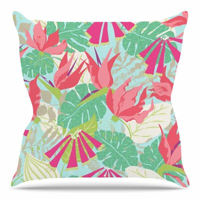 Tropicana by Jacqueline Milton 18 Throw Pillow