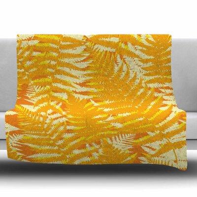 Fun Fern by Jacqueline Milton 60 Fleece Blanket