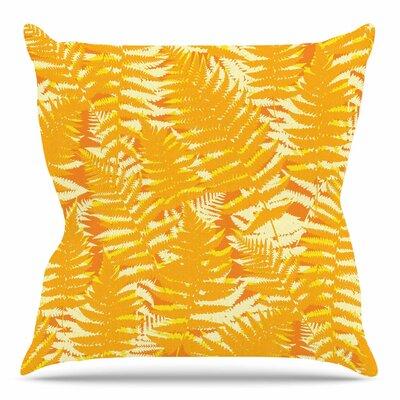 Fun Fern by Jacqueline Milton 18 Throw Pillow