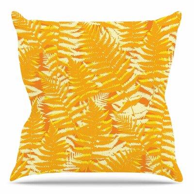 Fun Fern by Jacqueline Milton 26 Throw Pillow