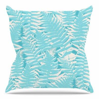 Fun Fern by Jacqueline Milton 16 Throw Pillow
