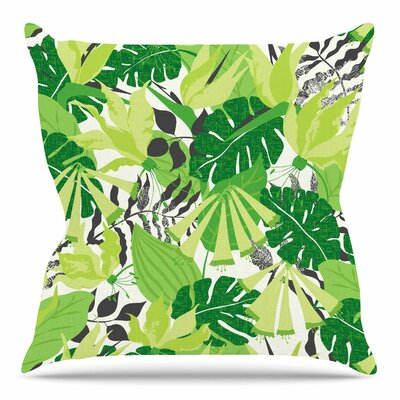 Tropicana by Jacqueline Milton 16 Throw Pillow