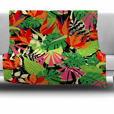Tropicana by Jacqueline Milton 30 Fleece Blanket