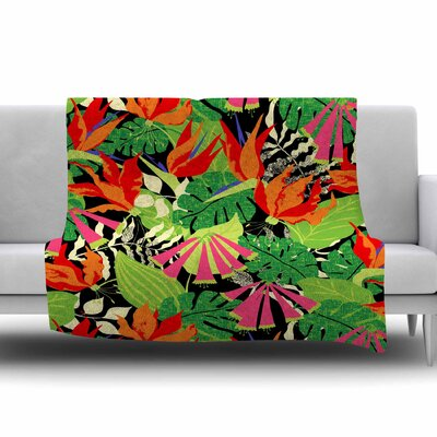 Tropicana by Jacqueline Milton 60 Fleece Blanket