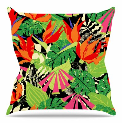 Tropicana by Jacqueline Milton 26 Throw Pillow