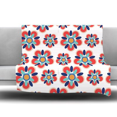 Folksy by Jolene Heckman 80 Fleece Blanket Size: 80 L x 60 W