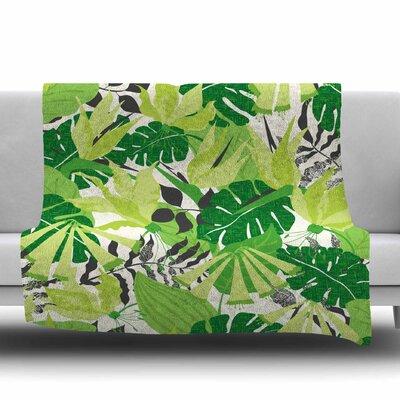 Tropicana by Jacqueline Milton 30 Fleece Blanket