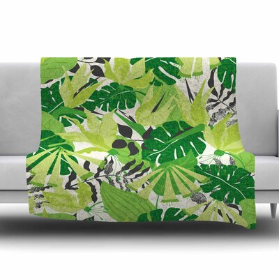 Tropicana by Jacqueline Milton 60 Fleece Blanket