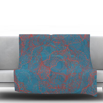 Mandala by Patternmuse 60 Fleece Blanket