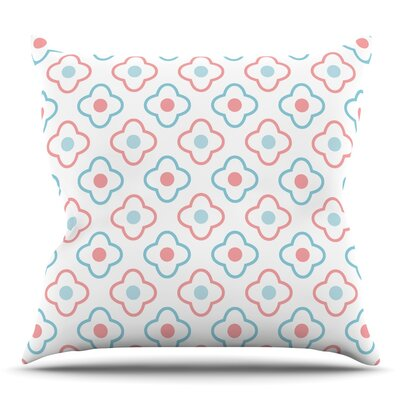 Moroccan Throw Pillow Size: 18 H x 18 W