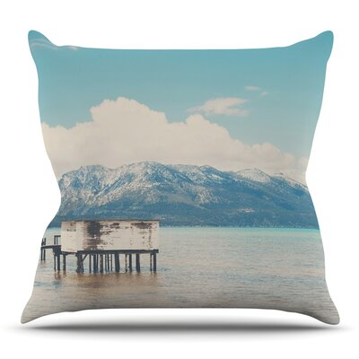 Down By The Lake by Laura Evans Throw Pillow Size: 16 H x 16 W