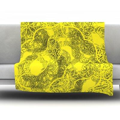 Mandala by Patternmuse 30 Fleece Blanket