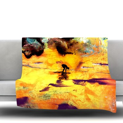 Pool of Life by Josh Serafin Fleece Blanket Size: 60 L x 50 W