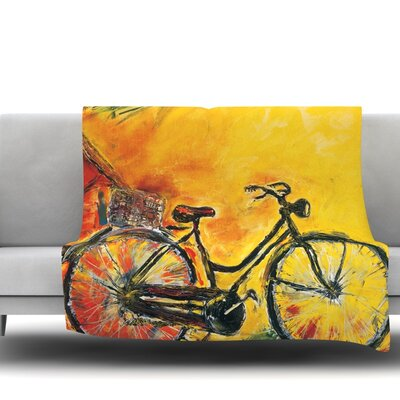 To Go by Josh Serafin Fleece Blanket Size: 40 L x 30 W