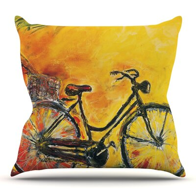 To Go by Josh Serafin Throw Pillow Size: 16 H x 16 W