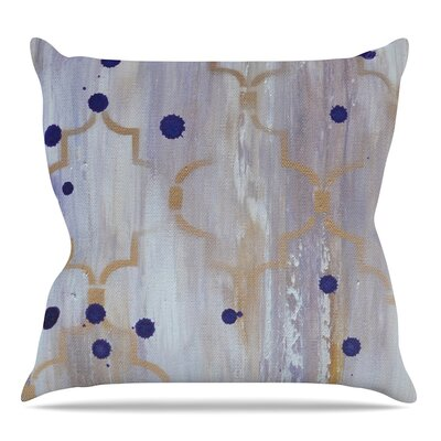 Lush by Kira Crees Throw Pillow Size: 18 H x 18 W
