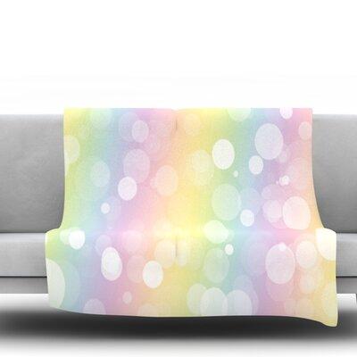 Pastel Prism Fleece Blanket Size: 40 L x 30 W
