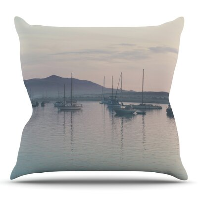 As the Sun Goes Down by Laura Evans Throw Pillow Size: 18 H x 18 W