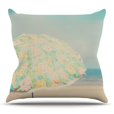 A Summer Afternoon by Laura Evans Throw Pillow Size: 26 H x 26 W