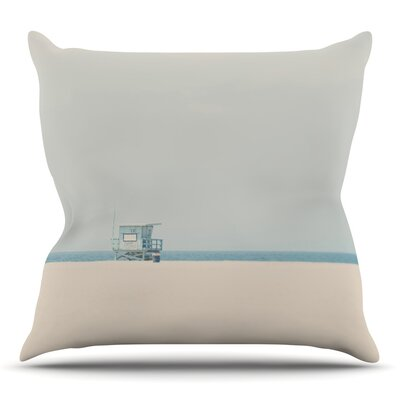 Tower 17 by Laura Evans Throw Pillow Size: 18 H x 18 W