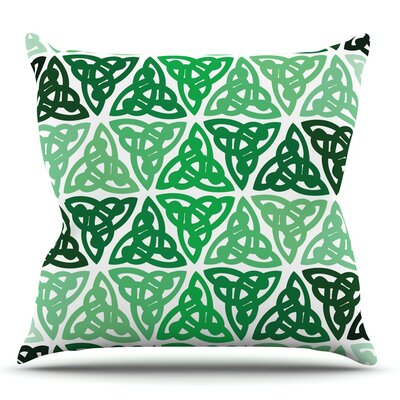 Celtic Knot Throw Pillow Size: 16 H x 16 W