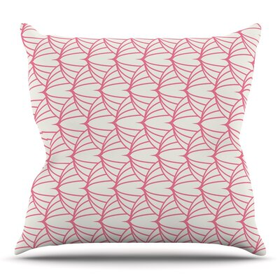 Stitches Throw Pillow Size: 26