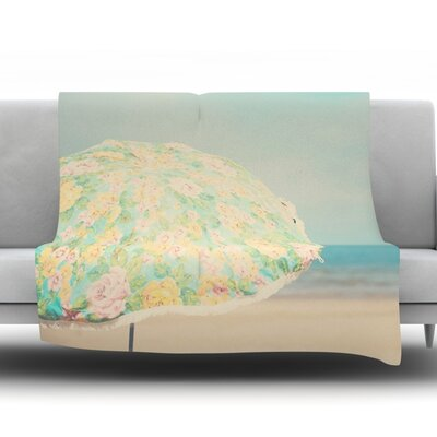 A Summer Afternoon by Laura Evans Fleece Blanket Size: 60 L x 50 W