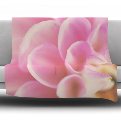 Up Close & Personal by Laura Evans Fleece Blanket Size: 80 L x 60 W