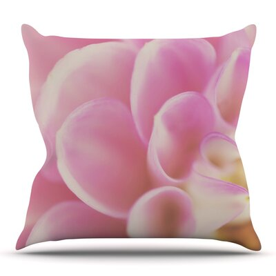 Up Close & Personal by Laura Evans Throw Pillow Size: 26 H x 26 W