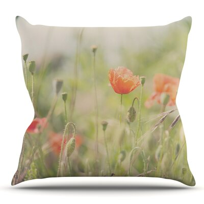 Fields of Remembrance by Laura Evans Throw Pillow Size: 26 H x 26 W