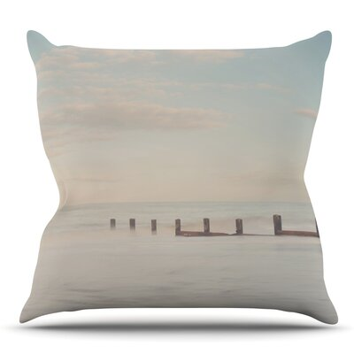 The Rising Tide by Laura Evans Throw Pillow Size: 26 H x 26 W