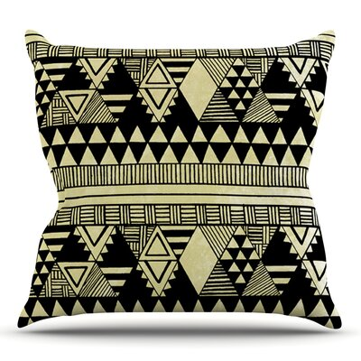 Ethnic Chic by Louise Machado Throw Pillow Size: 18 H x 18 W