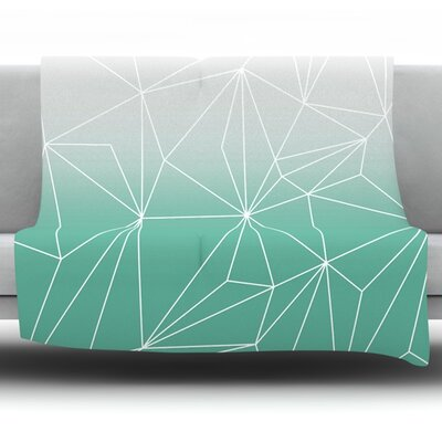 Simplicity by Mareike Boehmer Fleece Blanket Size: 40 L x 30 W