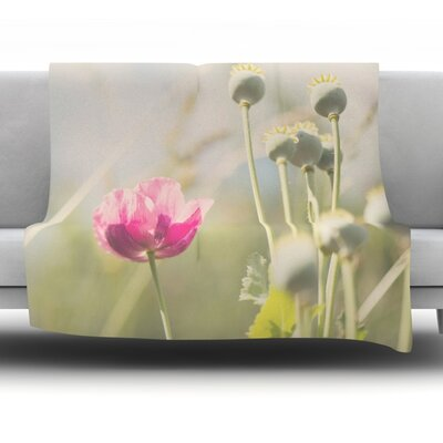 Looking Up by Laura Evans Fleece Blanket Size: 40 L x 30 W