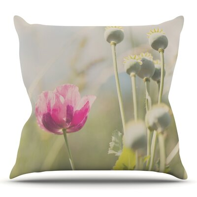 Looking Up by Laura Evans Throw Pillow Size: 18 H x 18 W