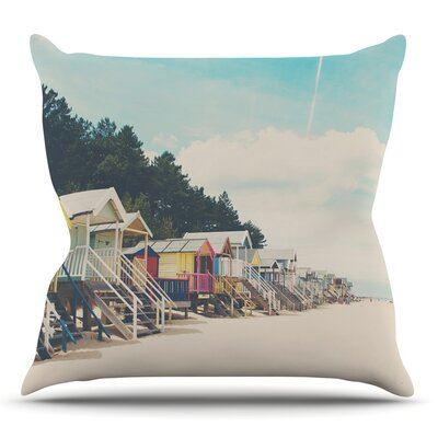 Small Spaces by Laura Evans Throw Pillow Size: 20 H x 20 W