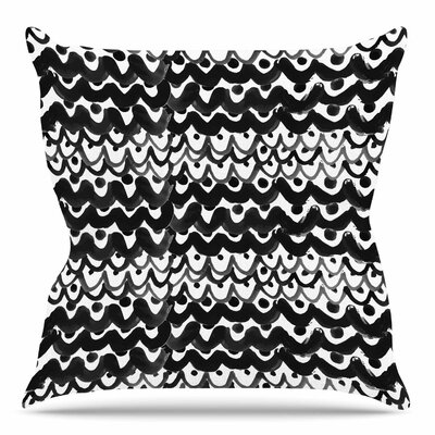 Finger Scales by MaJoBV Throw Pillow Size: 18 H x 18 W