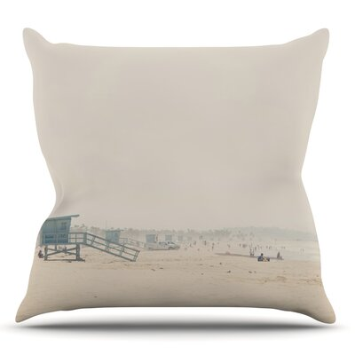 Summer Haze by Laura Evans Throw Pillow Size: 20 H x 20 W
