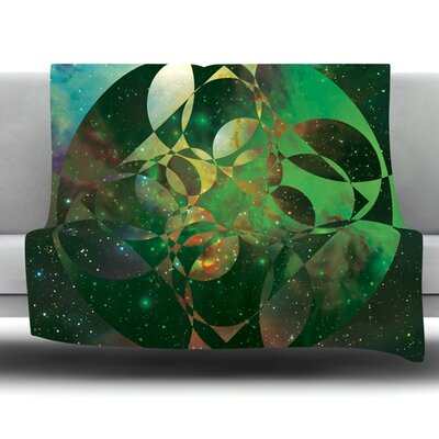 Galactic Brilliance by Matt Eklund Fleece Blanket Size: 60 L x 50 W