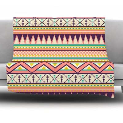 Ethnic Love by Louise Machado Fleece Blanket Size: 60