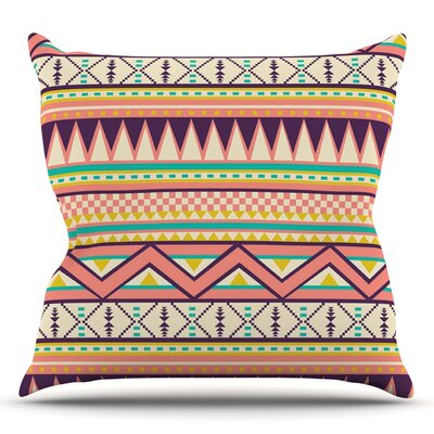 Ethnic Love by Louise Machado Throw Pillow Size: 18 H x 18 W