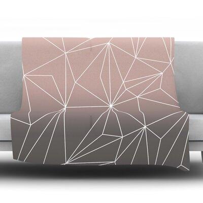 Simplicity 2X by Mareike Boehmer Fleece Blanket Size: 60 L x 50 W