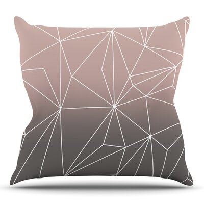 Simplicity 2X by Mareike Boehmer Throw Pillow Size: 26 H x 26 W