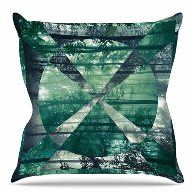 Foliage by Matt Eklund Throw Pillow Size: 18 H x 18 W