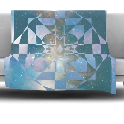 Galactic Hope by Matt Eklund Fleece Blanket Size: 60 L x 50 W