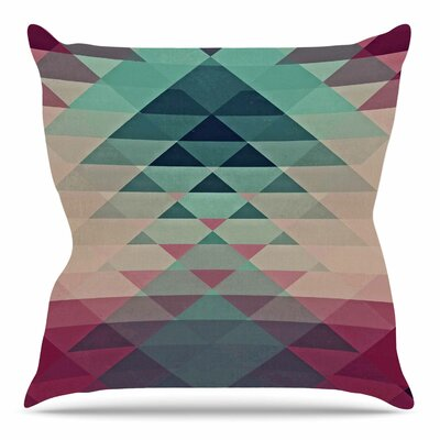 Hipster by Nika Martinez Throw Pillow Size: 18 H x 18 W
