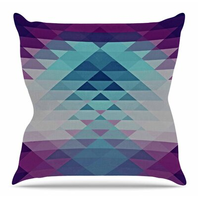 Hipster Girl by Nika Martinez Throw Pillow Size: 18 H x 18 W